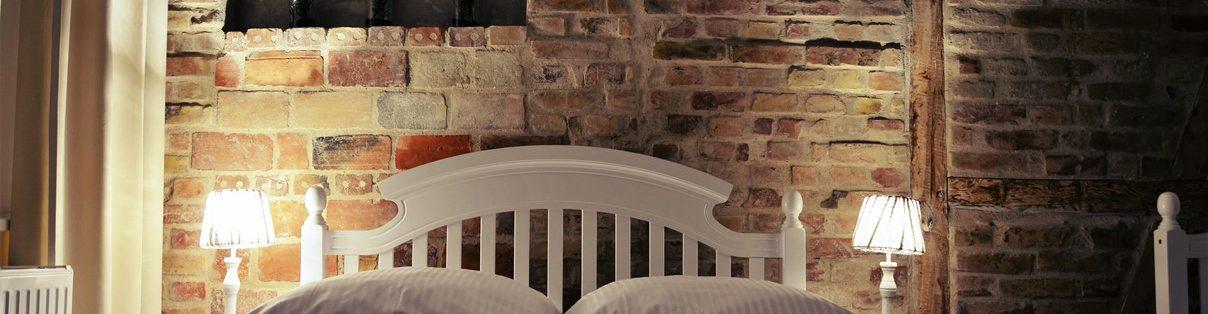 łóżko dwuosobowe zdjęcie nocna